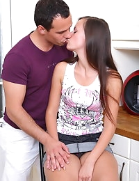 Teen pussy pounded photo #2