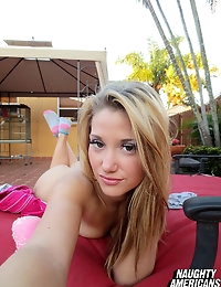 Naughty Americans - GF Arrives Home From Trip, Bangs Her Guy Outside!!!  photo #1