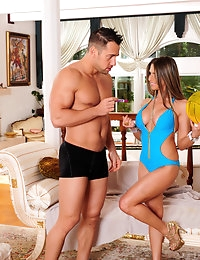 Rachel Roxxx and Johnny Castle in Neighbor Affair - Naughty America photo #2