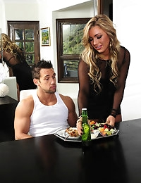 Cameron Dee and Johnny Castle in My Dad's Hot Girlfriend - Naughty America photo #2