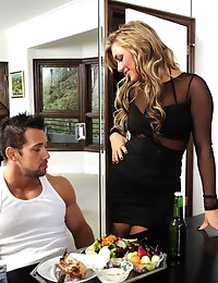 Cameron Dee and Johnny Castle in My Dad's Hot Girlfriend - Naughty America photo #3