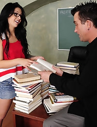 Madelyn Monroe and Billy Glide in Naughty Bookworms - Naughty America photo #3