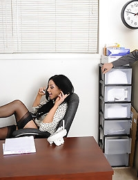 Audrey Bitoni and Johnny Castle in Naughty Office - Naughty America photo #2