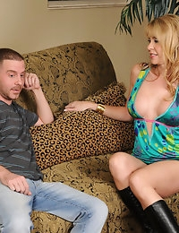 Desiree Dalton and Tony Rubino in Seduced by a Cougar - Naughty America photo #3