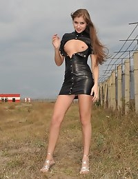 Eroberlin Viva russian teen airport naked outdoor photo #5