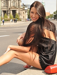 Eroberlin Maria russian public sightseeing downtown Berlin photo #11