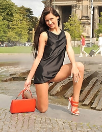Eroberlin Maria russian public sightseeing downtown Berlin photo #13