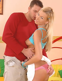 Deniska & Nick Lang : | HARDCORE | boy and girl | : Free picture gallery : Euro Teen Erotica - The sweetest and most beautiful girls on the net! | HARDCORE | boy and girl |  photo #4