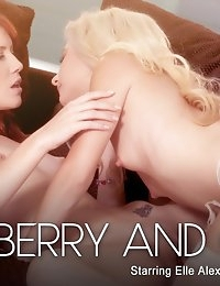 Nude Pics Of Odette Delacroix, Elle Alexandra In Strawberry and Cream - Babes.com photo #10