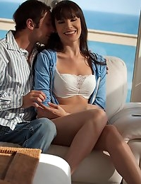 Nude Pics Of Dana DeArmond In Ocean Blue - Babes.com photo #1
