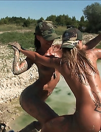Exclusive Actiongirls Boot Camp Mud Wars Photos & Movies photo #11