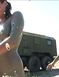 Exclusive Actiongirls Boot Camp Mud Wars Photos & Movies photo #20