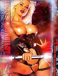 Exclusive Actiongirls 2012 Web Posters Deluxe Series 3  Photos Actiongirls.com photo #10