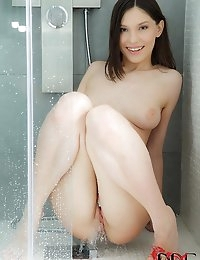 Teen Shower Masturbation Scene photo #11
