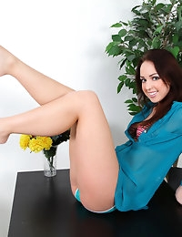 Nubiles.net - featuring Nubiles Jade Dunn in vibrator-toy photo #4
