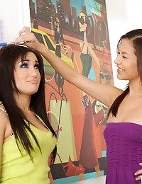 ::eXXXtrasmall.com presents: Ariana and Gabriella in Little Old Friends:: photo #9