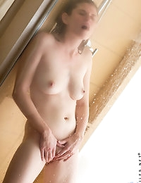 Nubiles.net - featuring Nubiles Lara Brookes in shower-hot-babe photo #15