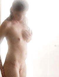 Nubiles.net - featuring Nubiles Lara Brookes in shower-hot-babe photo #3