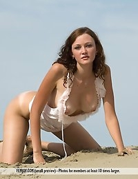 Free FEMJOY Gallery - CAMILA - Written in the Sand - FEMJOY photo #9