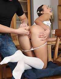 Teen pussy was licked. photo #7