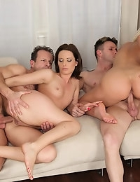 Euro Sex Parties Presents Mona Lizz in Sweet Pussy! - Movies And Pictures photo #9