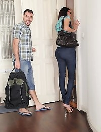 MikesApartment  - Lyen Parker Pinks out Sexy European petite babe juicy ass goes Euro Amatuer photo #2