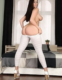 MikesApartment  - Paige Turnah Lucky you Sexy European petite babe juicy ass goes Euro Amatuer photo #4