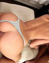 "EuroSexParties â""¢ - Amirah Adara High heels tight ass European petite babes juicy asses go anal photo #8"