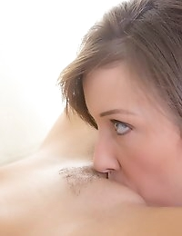 We Live Together  - Leticia Beach sex Horny lesbian babe get naked and have a threesome photo #10